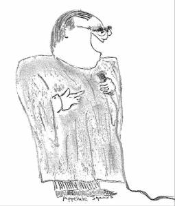 Scalia standup