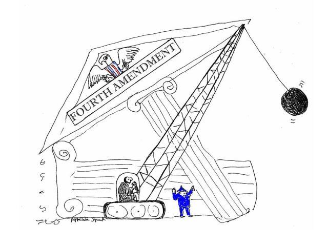 Fourth amendment demolition