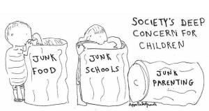 Deep concern for children