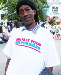 Fast food forward