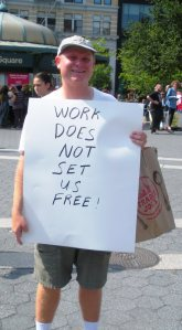 Work does not set us free