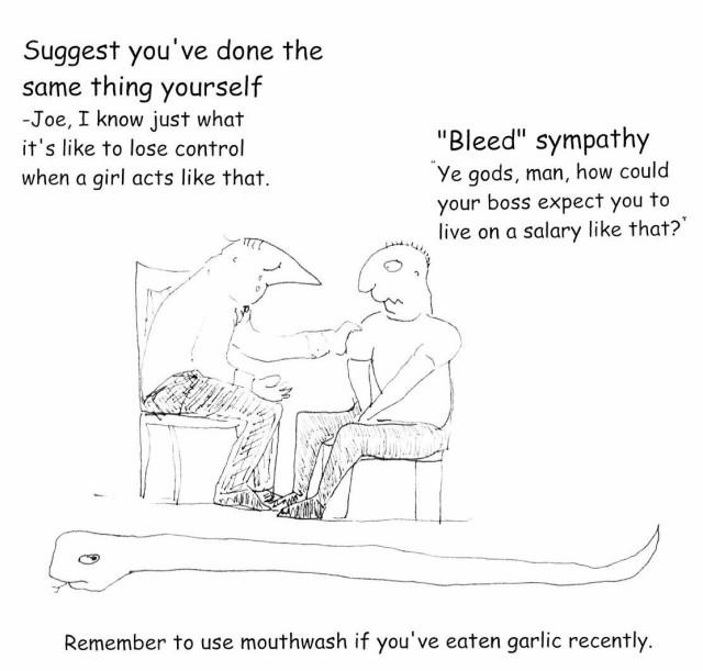 Bleed sympathy