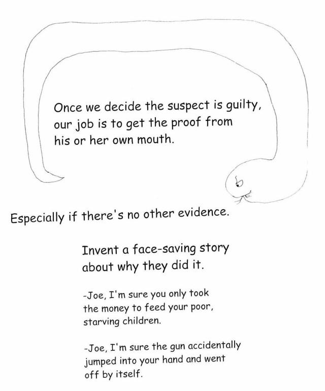 Face-saving story