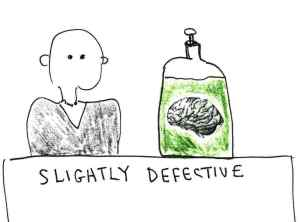 Slightly defective