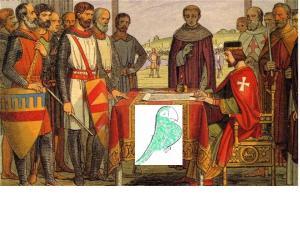Signing Magna Carta