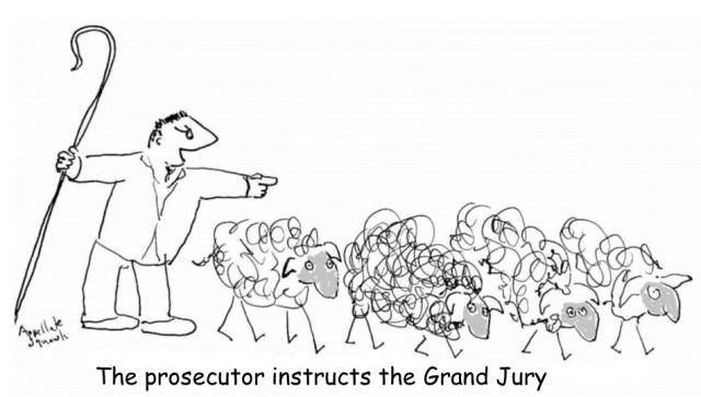 Prosecutor instructs grand jury
