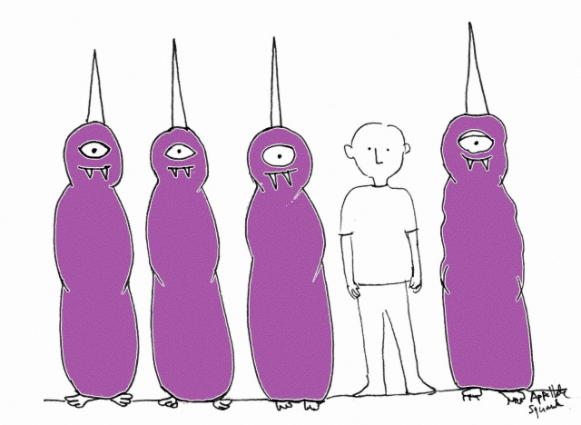 Purple People Eaters in lineup
