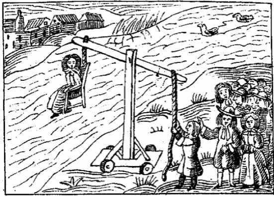 Puritan dunking stool